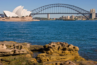 The Opera House and Harbour Bridge